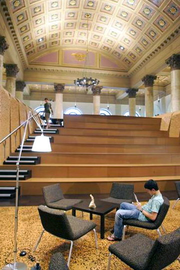 Rhode Island School Of Design Unveils New Fleet Library
