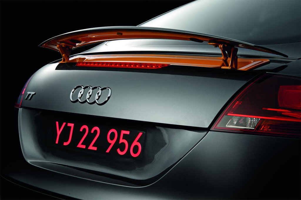 The Tailormade Audi Number Plate