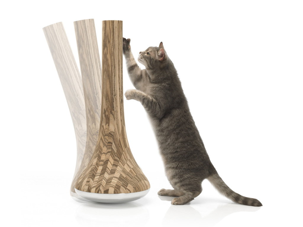 james owen design unveils the leo cat scratching post for design  - james owen design unveils the leo cat scratching post for design withinreach