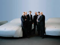 BMW Group Director of Design Christopher Bangle and the department heads of BMW Group design studios
