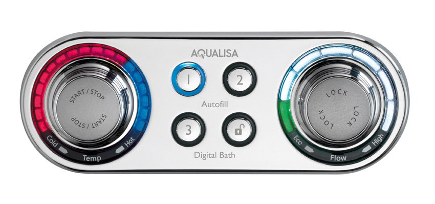 Seymourpowell Create Ilux for Aqualisa