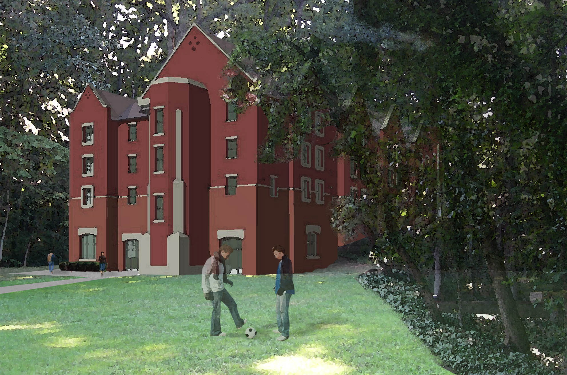 Columbia Theological Seminary New Green Residence Hall