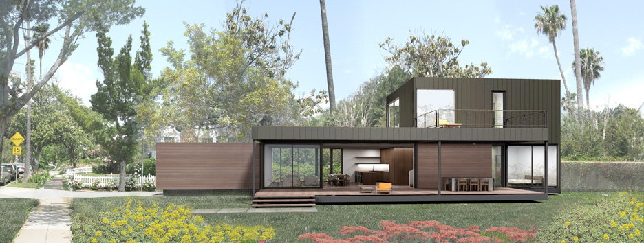 Marmol Radziner Prefab Teams Up with Dwell Magazine's Dwell Homes Collection