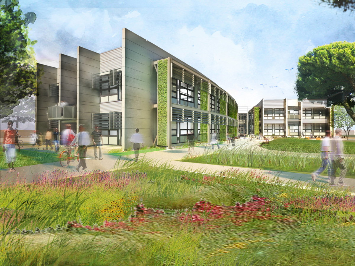 Nasa sustainability base for Green building articles