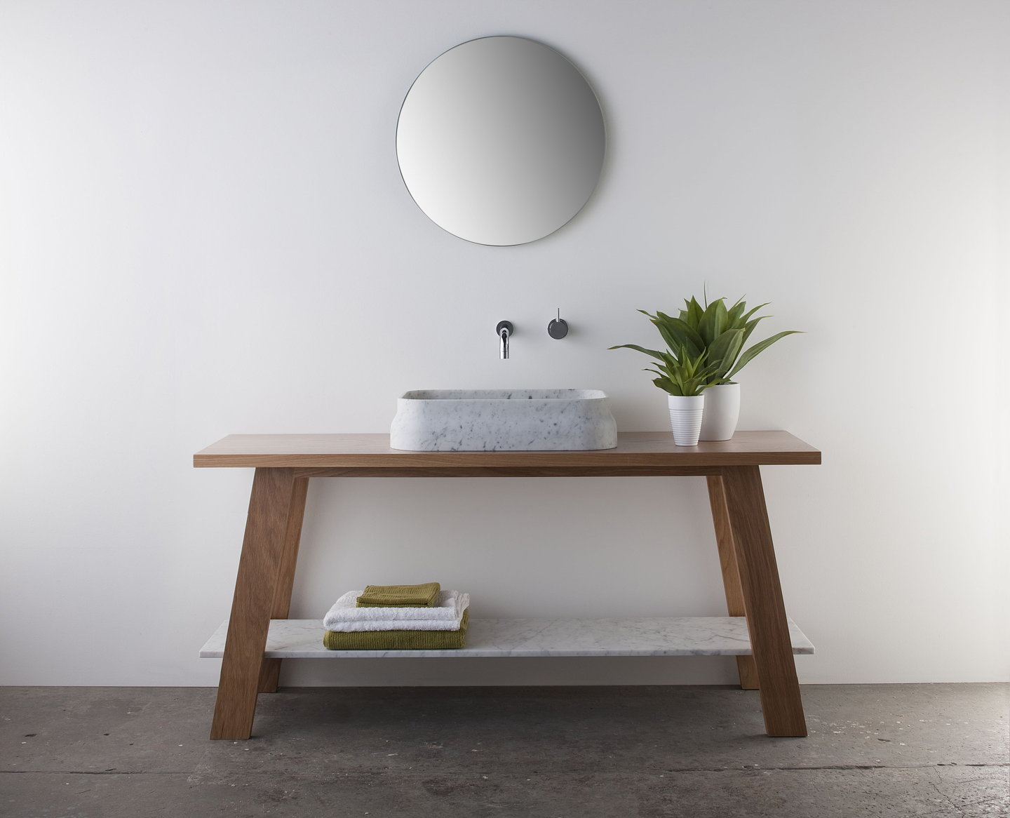 Latis the luxurious and sculptural new bathroom collection from omvivo - Mobili bagno eban ...