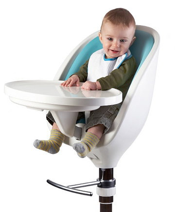 scoop high chair by seymourpowell innovative baby high chair. Black Bedroom Furniture Sets. Home Design Ideas