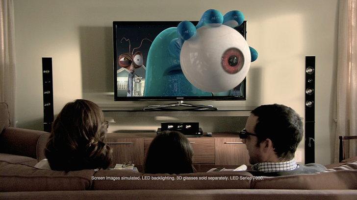 порно 3d для телевизора самсунг