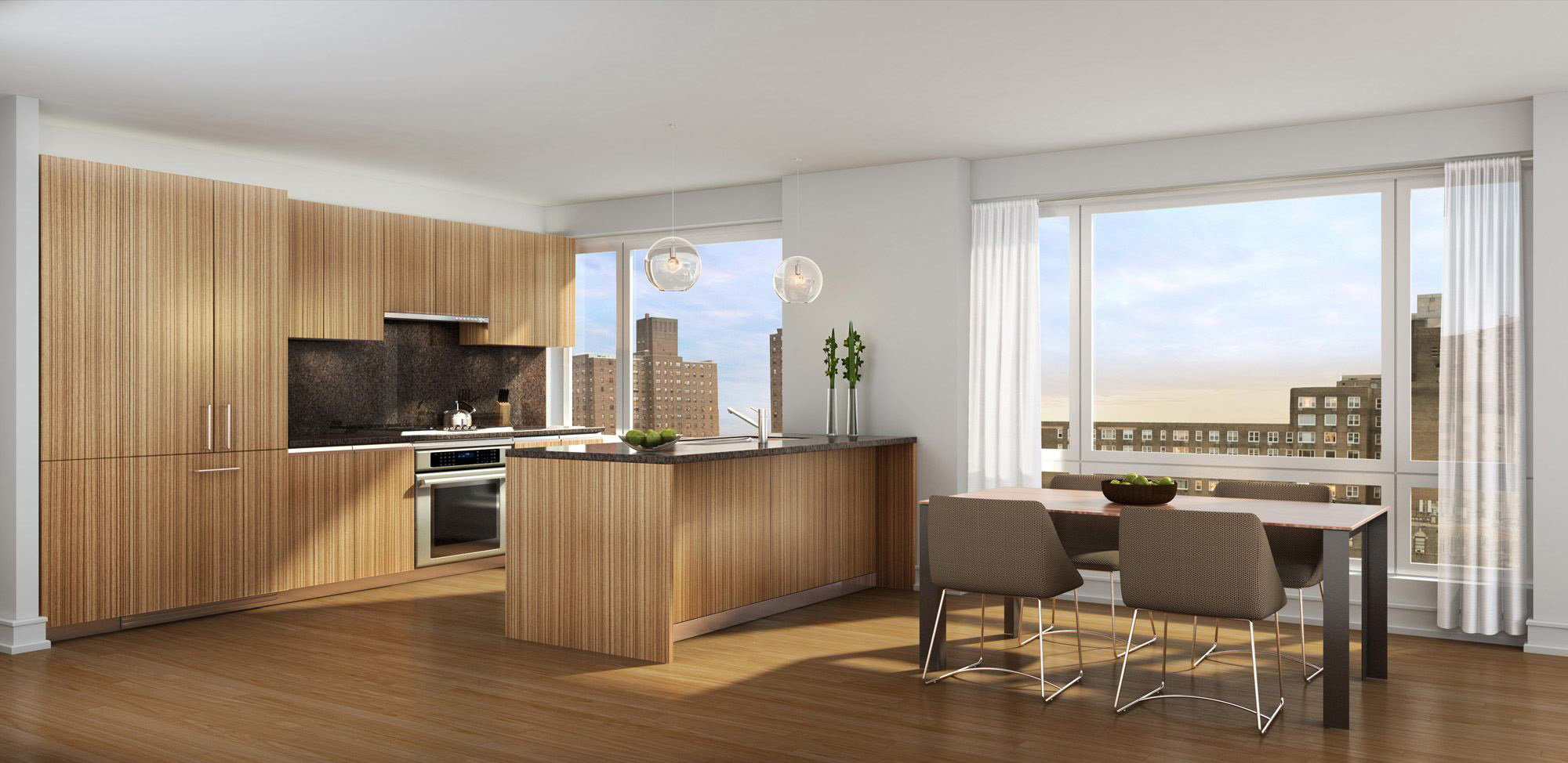 1280 Fifth Avenue Residential Tower Interiors