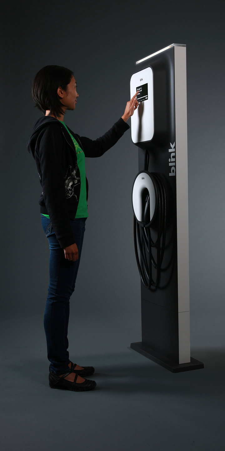 Blink Charging Stations >> Blink: The First Smart, Interactive, Iconic EV Chargers ...