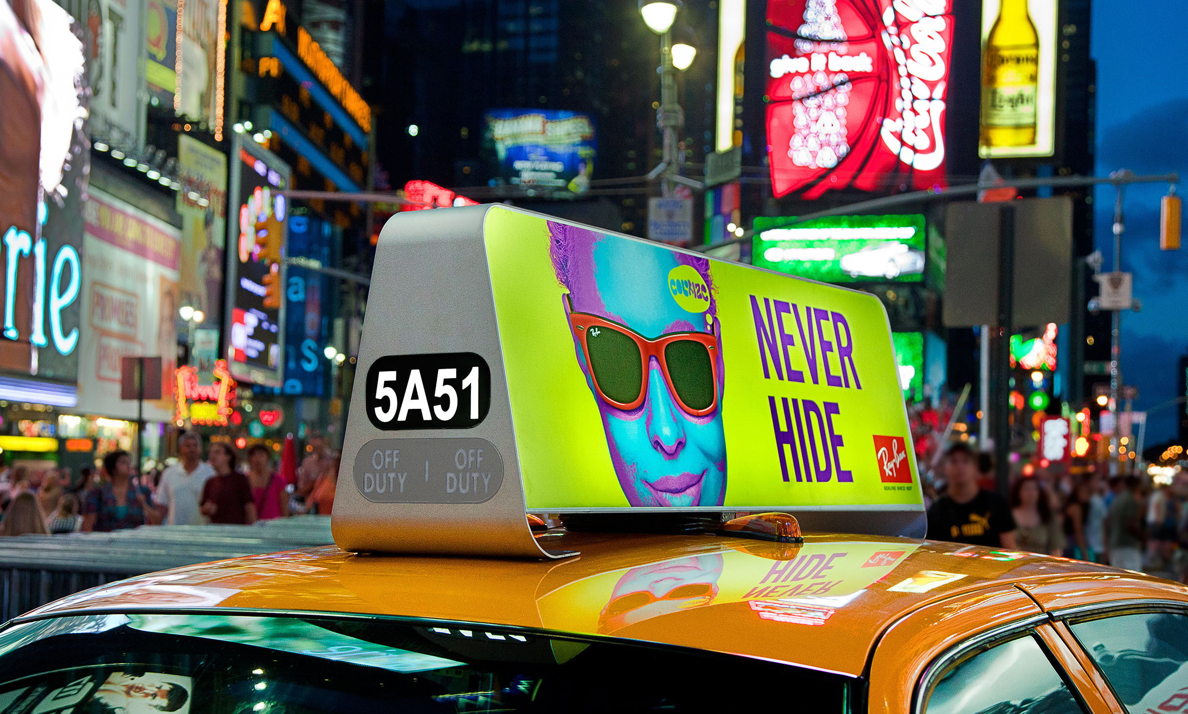 NYC Taxitop by BlueMap Design