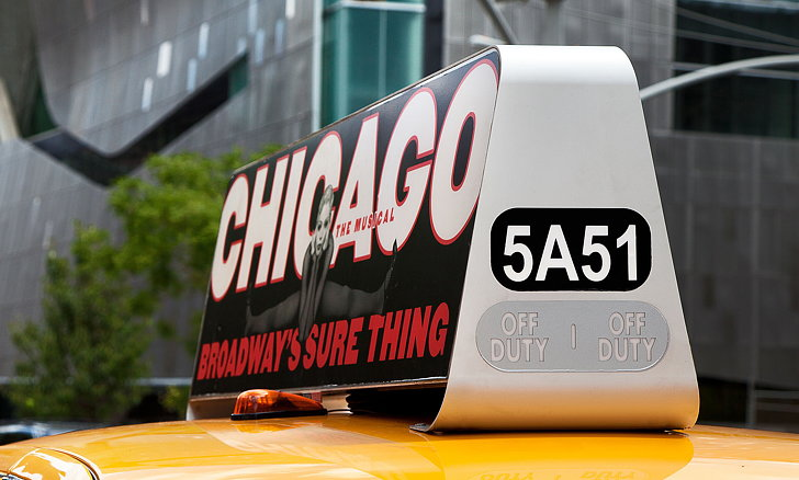 Bluemap Design Transports Taxi Top Advertising Into The