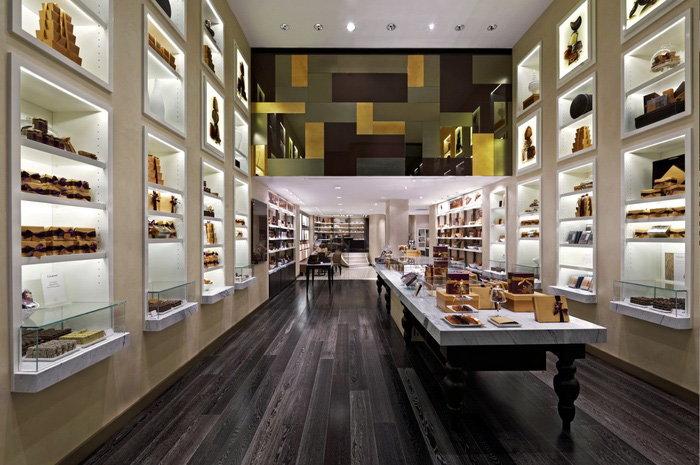 Godiva Chocolatier Taps Dash Design To Create Global Retail Extraordinary Interior Design Retail Concept
