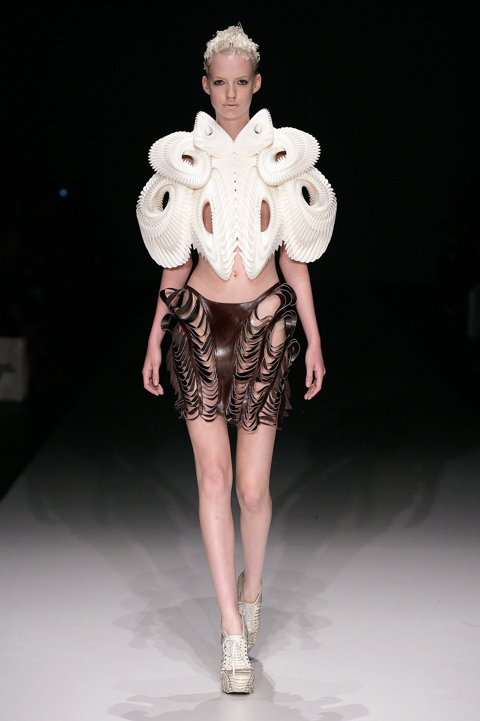 Crystallization Collection Iris van Herpen for United Nude