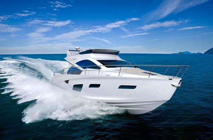 The Intermarine 55 Luxury Yacht By Bmw Group Designworksusa