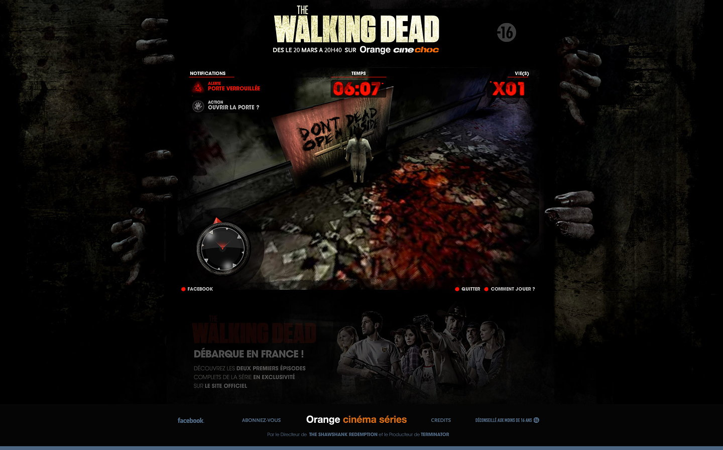 walking dead website