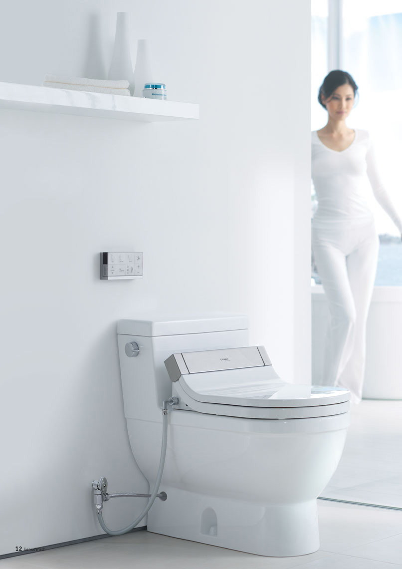 Duravit Sensowash sensowash starck high tech shower toilet by duravit