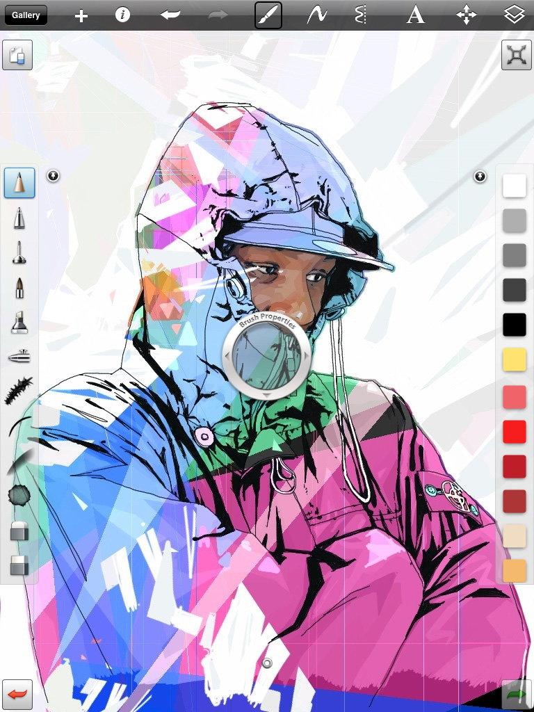 Autodesk Sketchbook Pro App Reaches Next Level On Ipad 2