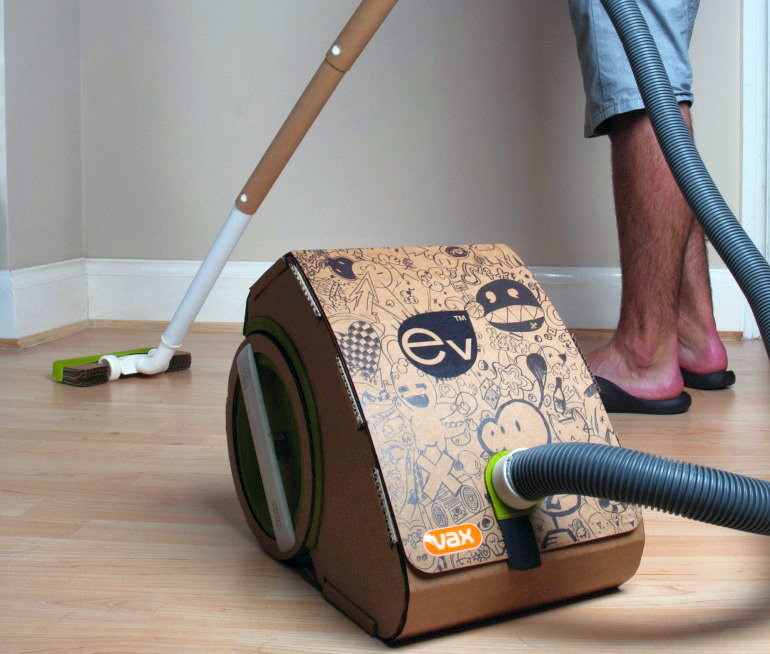Success Student Consulting: Vax Ev: World's First Cardboard Vacuum Cleaner