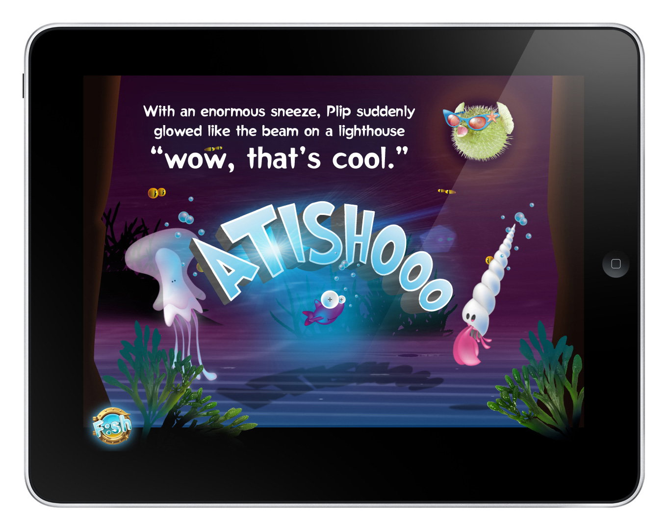 brandwidth makes waves with f sh a children u0027s book app for ipad
