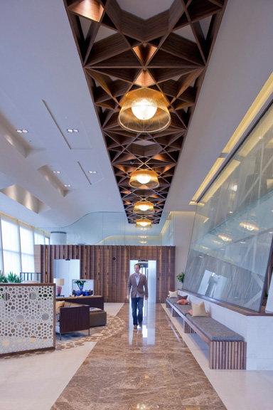 Art Line Qatar : Shh creates luxury passenger lounge for rizon jet at