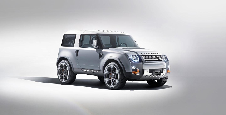 Dc100 Land Rover Concept