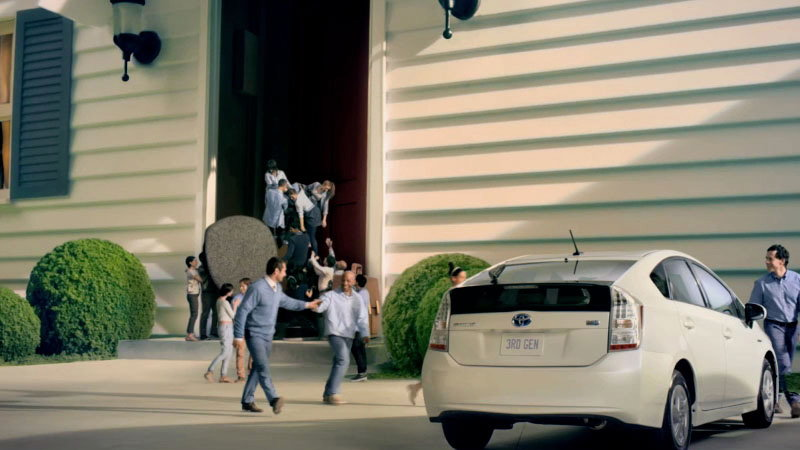 Toyota Prius People Person Campaign