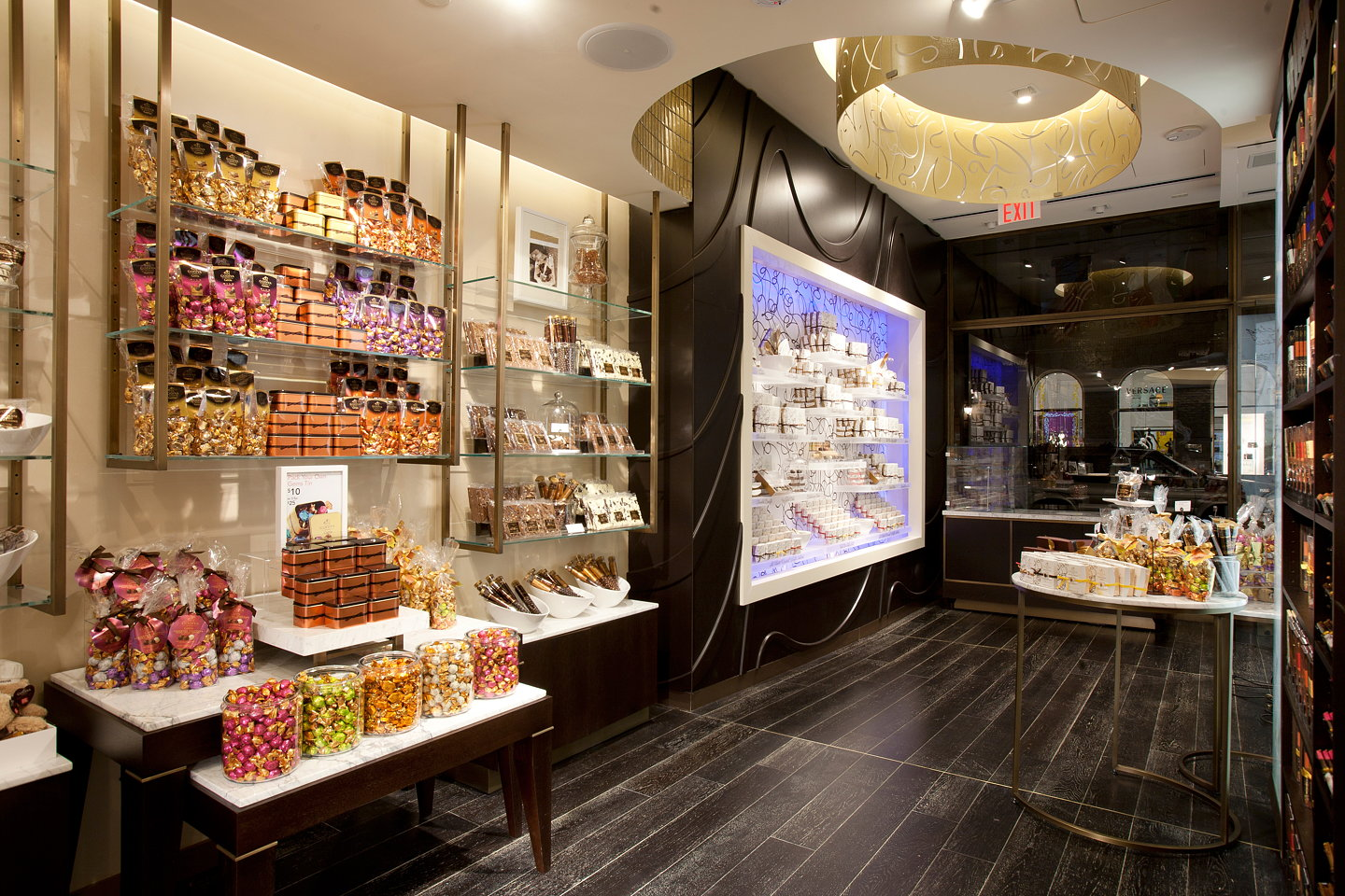 D Ash Design Completes New Godiva 5th Avenue Ny Flagship