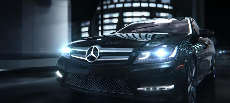 Mercedes Coupe Teaser