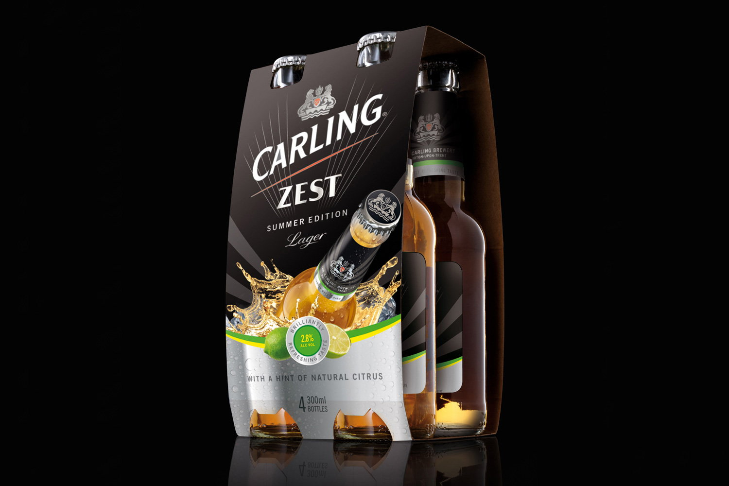 Carling Zest Multi Pack