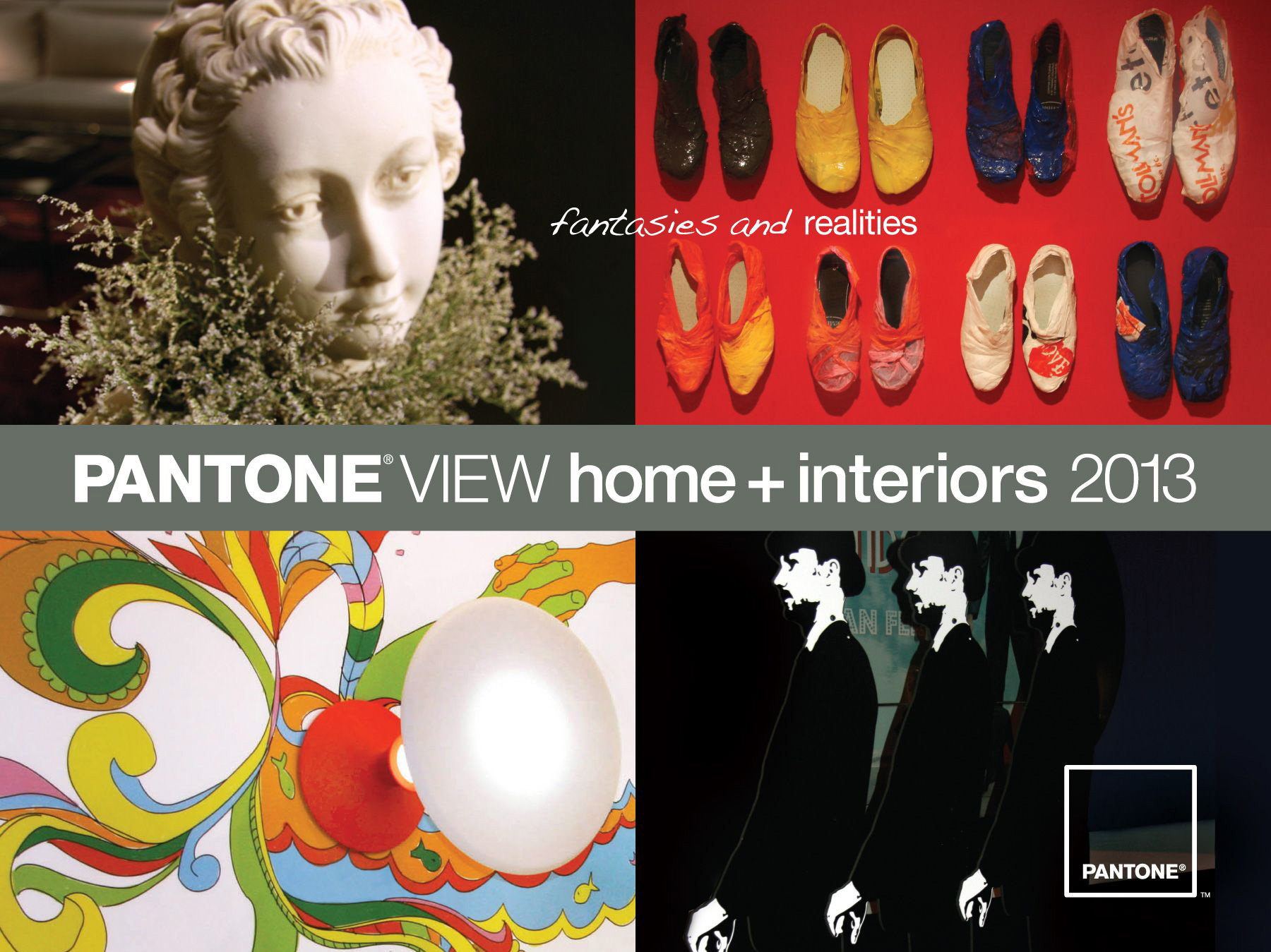Pantone View Home Interiors 2013 Trend Forecast