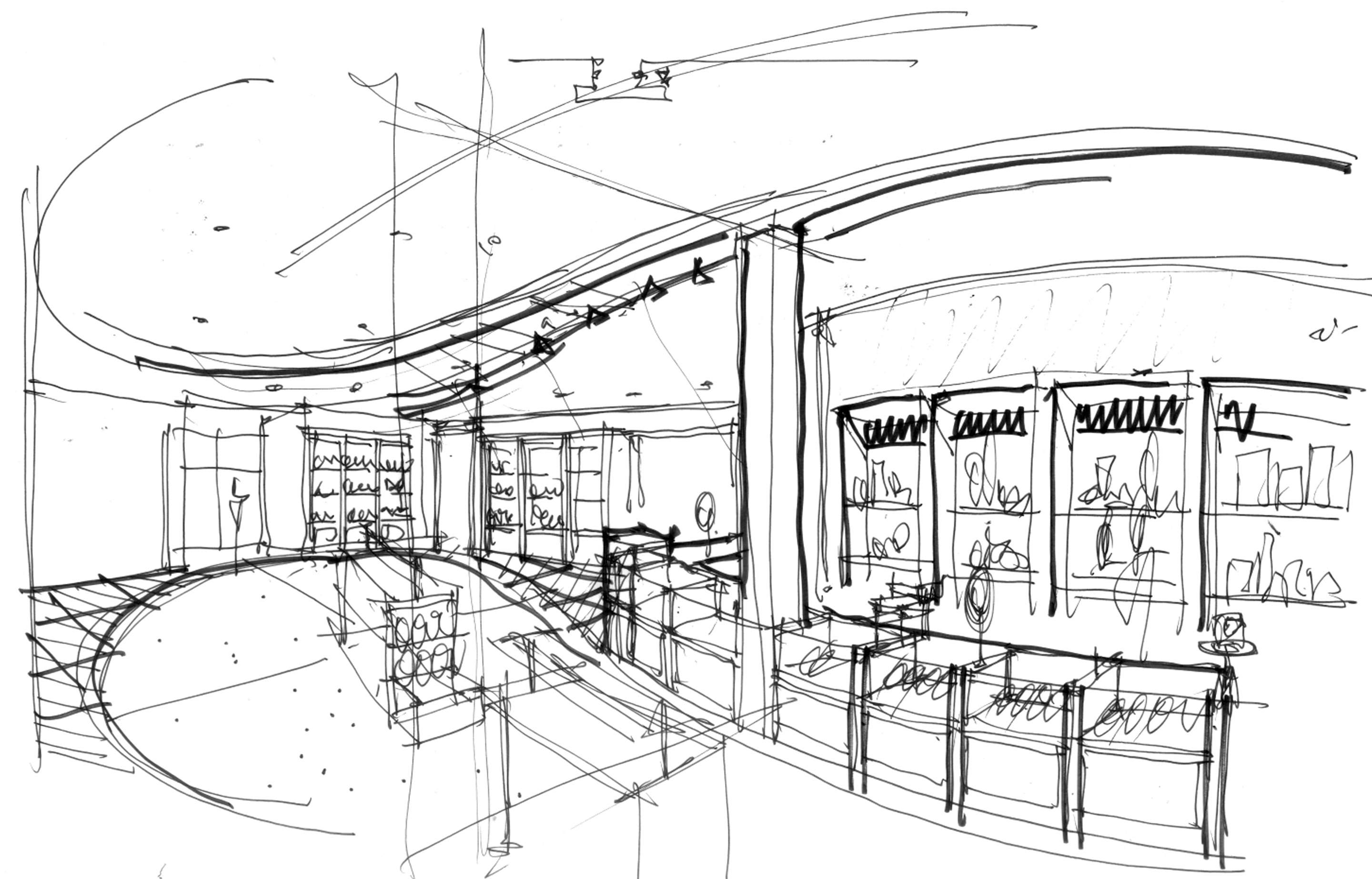 New Brooklyn Museum Shop Sketch