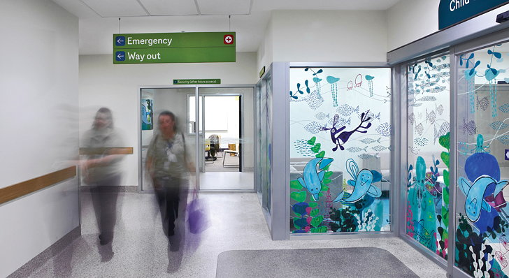 Wayfinding Solution For The Royal Children S Hospital