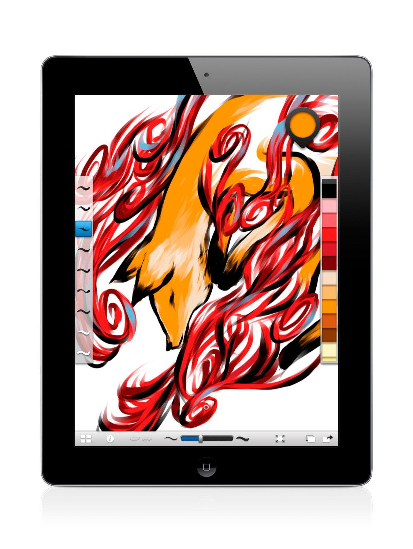 Autodesk SketchBook Ink App for iPad