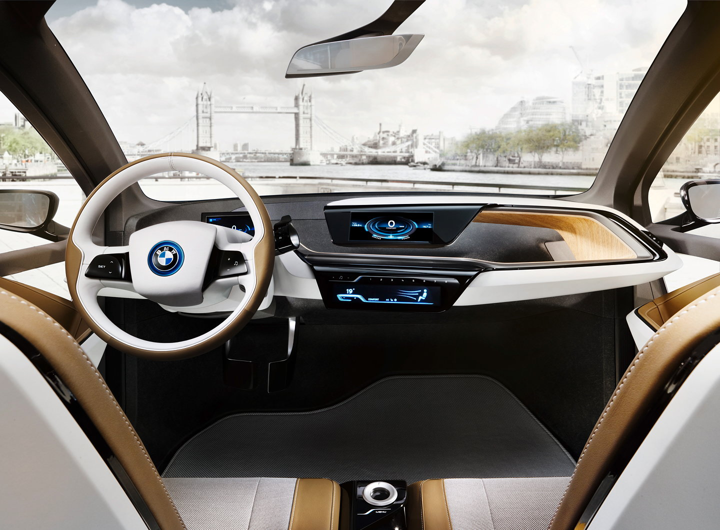 First Bmw I Store Opens In London New Bmw I3 Concept And Bmw I