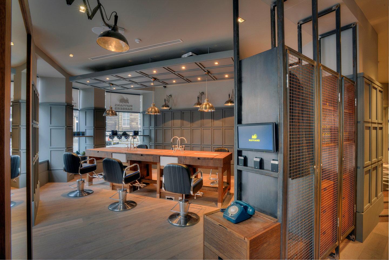 Ruffians New Barber Shop In Edinburgh Designed By Graven