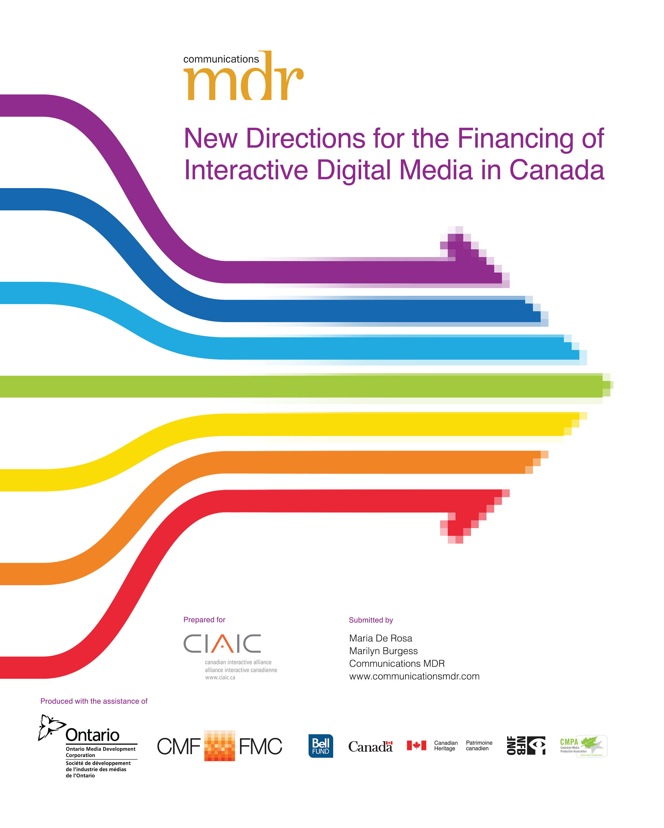 New Directions for the Financing of Interactive Digital Media in Canada