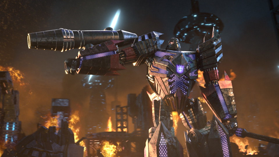 Transformers Fall of Cybertron Video Game Teaser