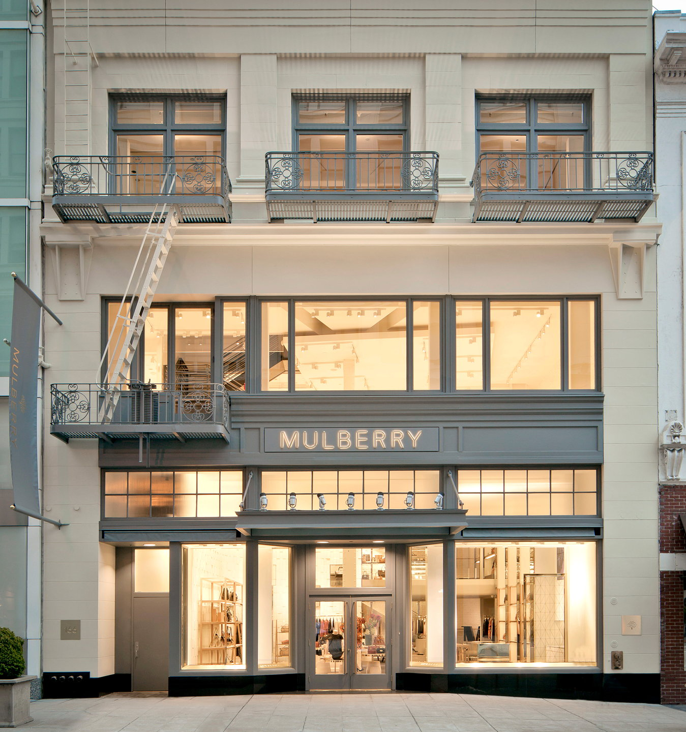 mulberry opens new store in san francisco