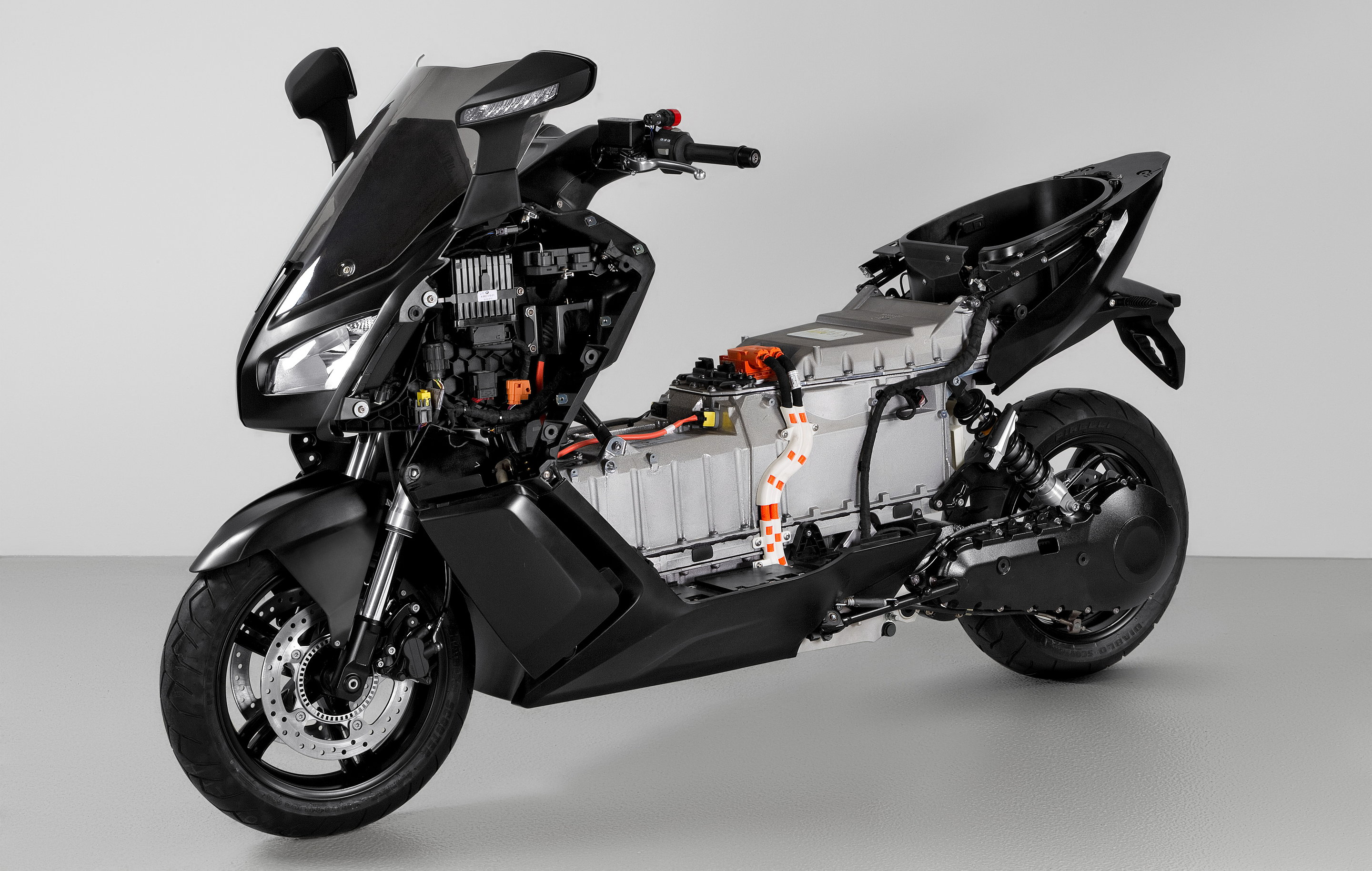 BMW C Evolution Hybrid Chassis