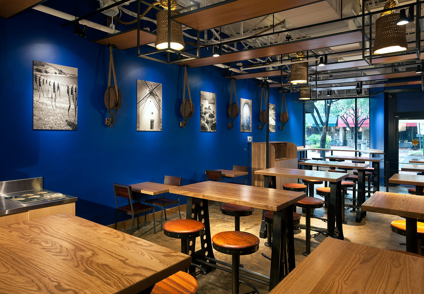 medi: a mediterranean grill and pitariagrizform design architects