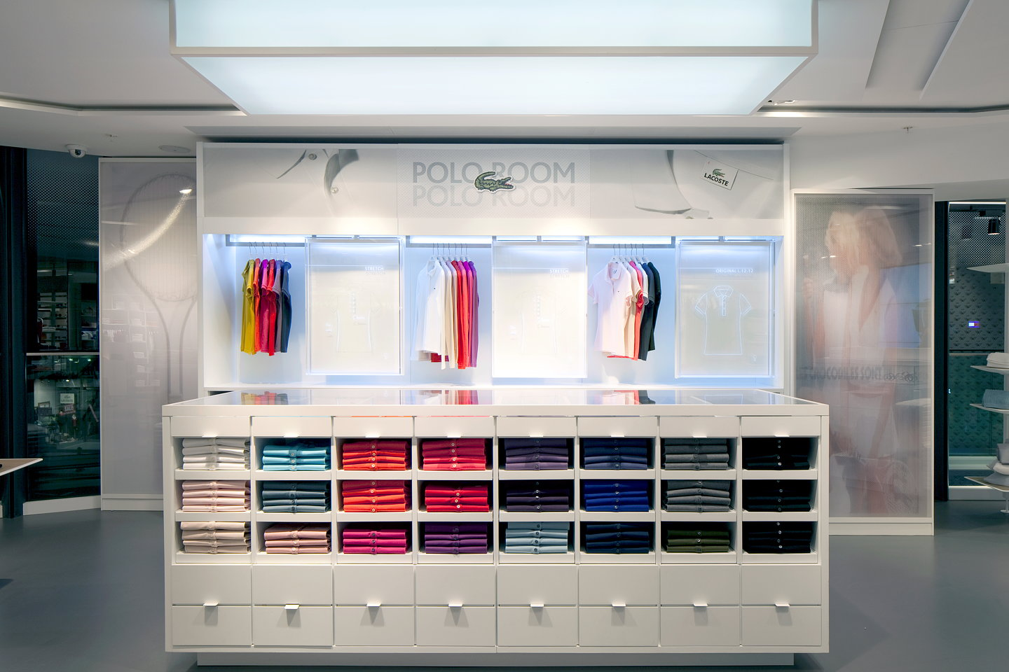 Designlsm Designs Lacoste Knightsbridge Flagship Store