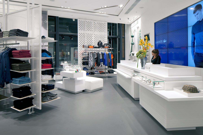 Designlsm Designs Lacoste Knightsbridge Flagship Store