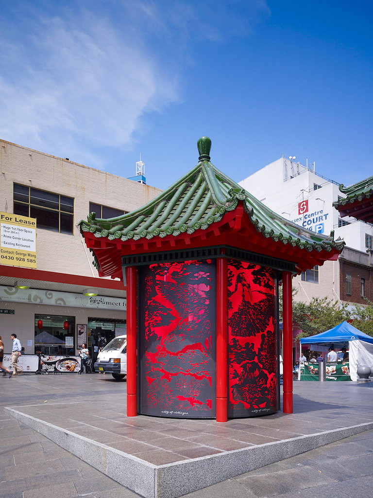 Frost S Chinatown Kiosk Wins Nsw Architecture Awards 2012