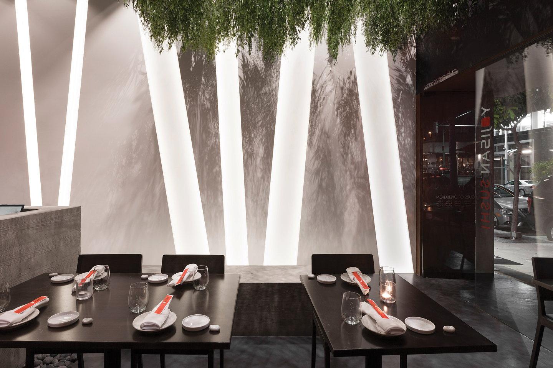 Sushi Restaurant Design dan brunn designs beverly hills' yojisan sushi