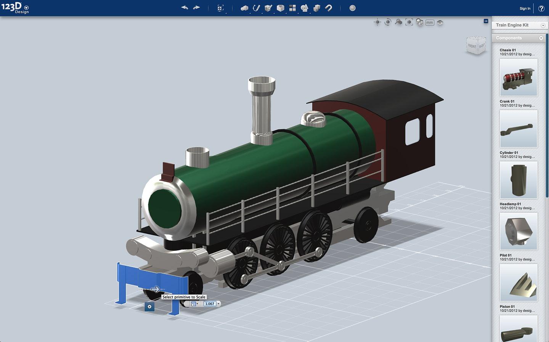 Autodesk 123d Design 3d Modeling For The Masses