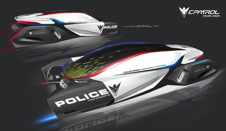 epatrol police vehicle concept for 2025. Black Bedroom Furniture Sets. Home Design Ideas