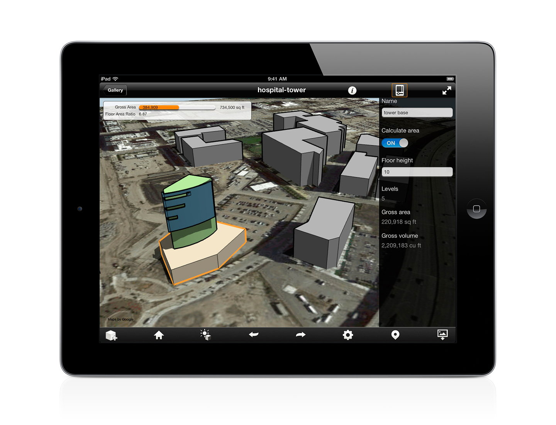 Autodesk FormIt iPad App