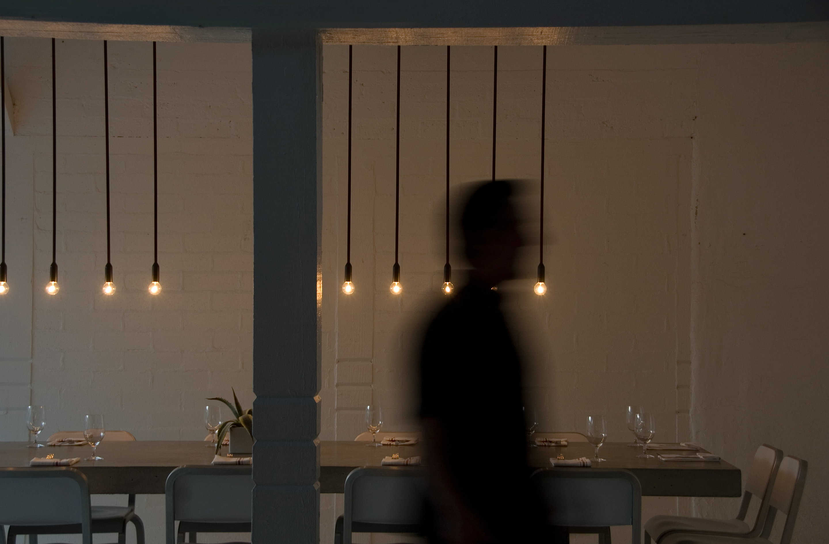 Workshop Kitchen and Bar Lighting by PSLAB