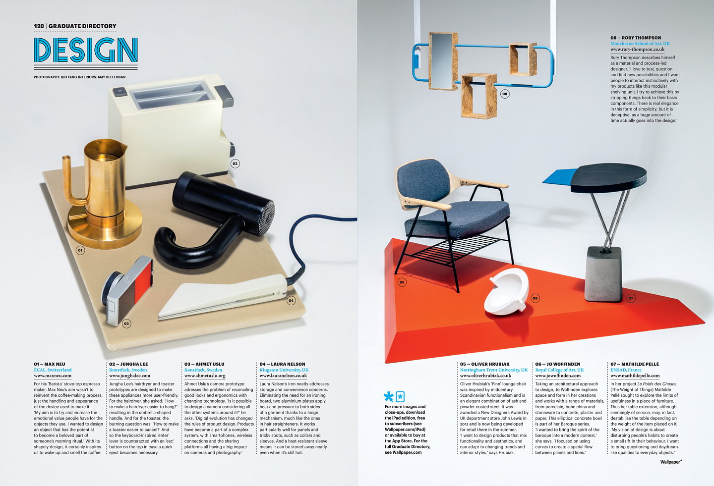 Wallpaper Magazine January 2013 Next Generation