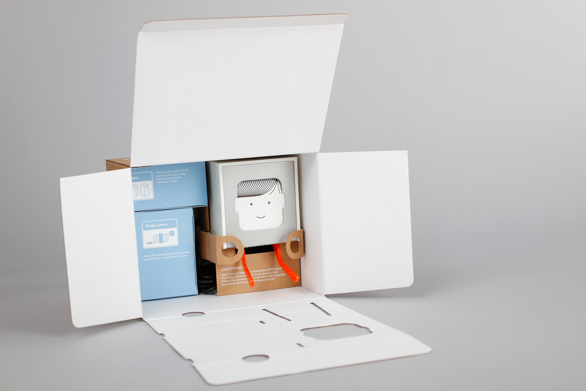 Little Printer Packaging by Burgopak and BERG
